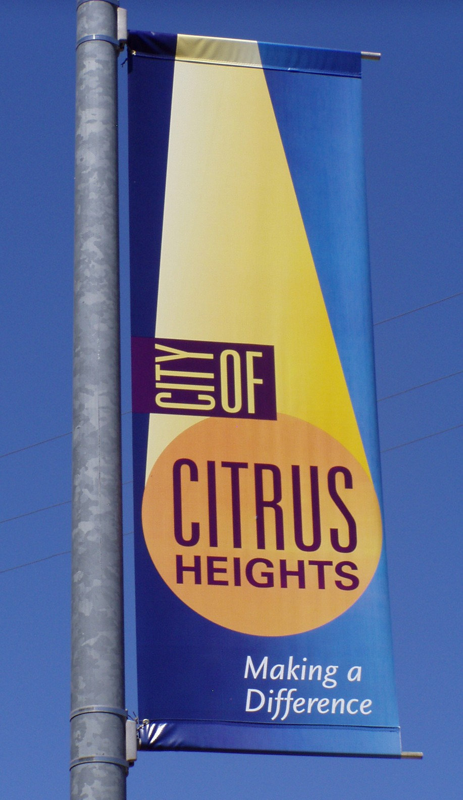 City of Citrus Heights Banner