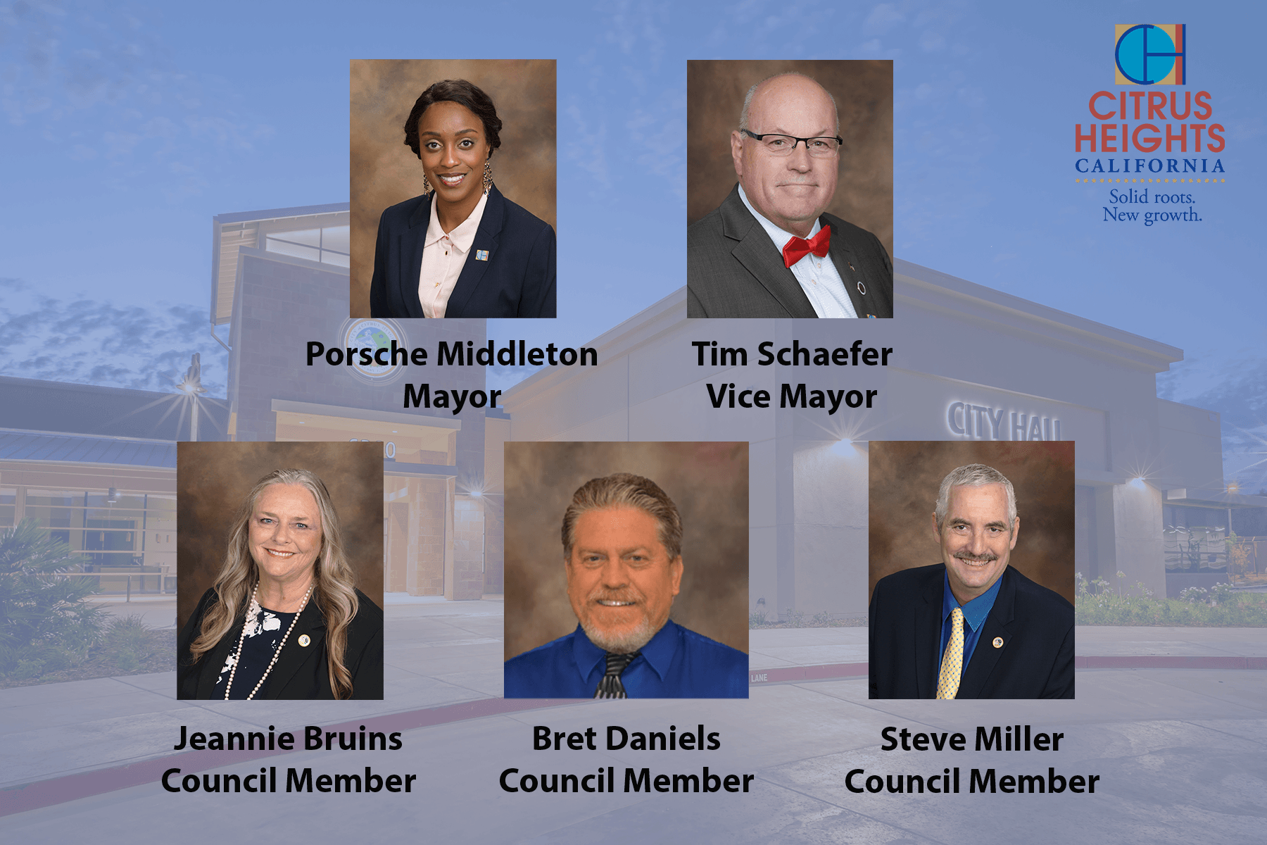 Citrus Heights City Council Group Photo