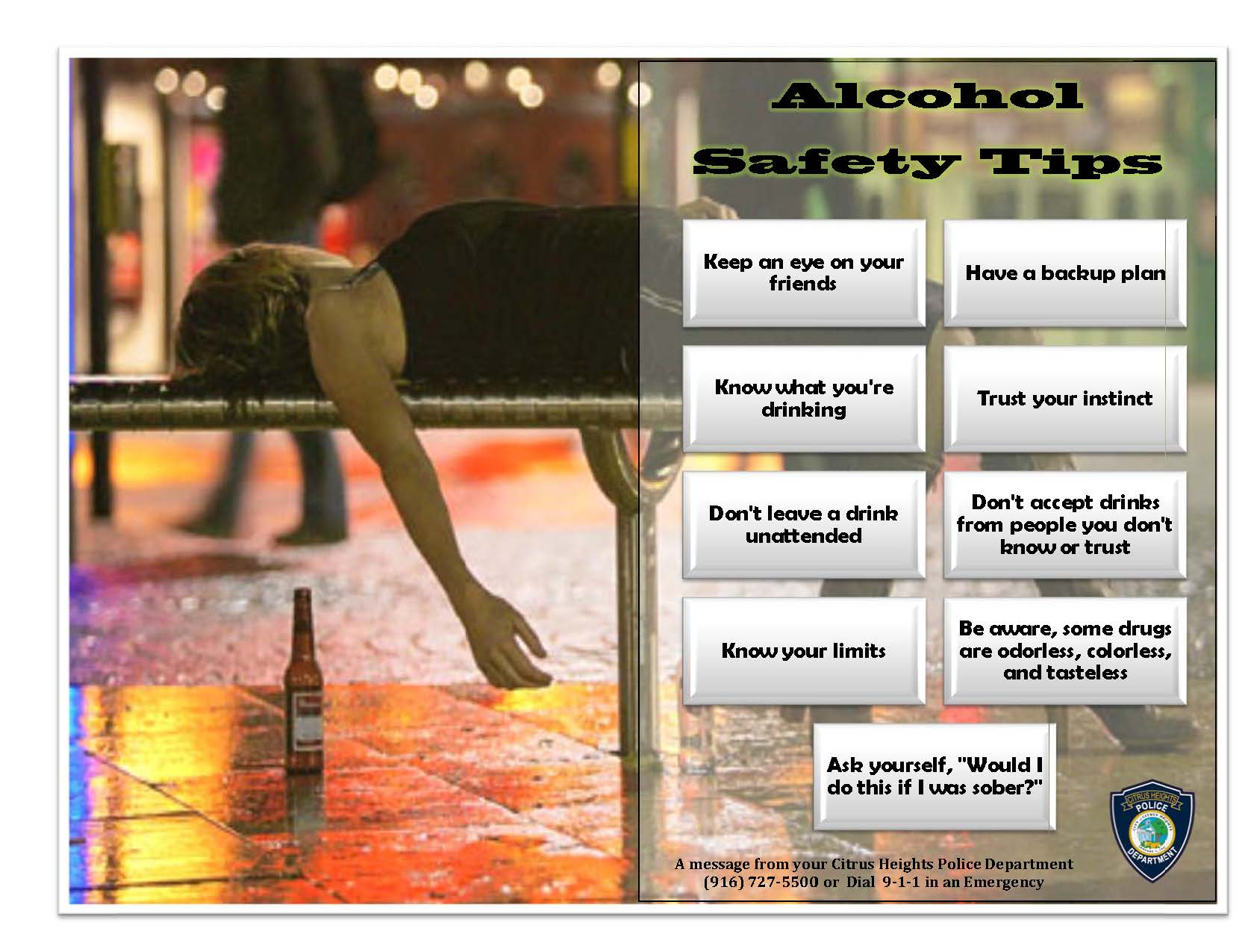 Alcohol Safety