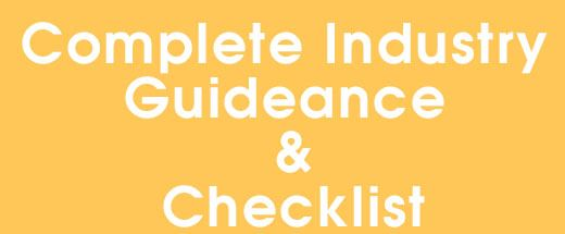 Guidance Checklist by industry ED pages Opens in new window