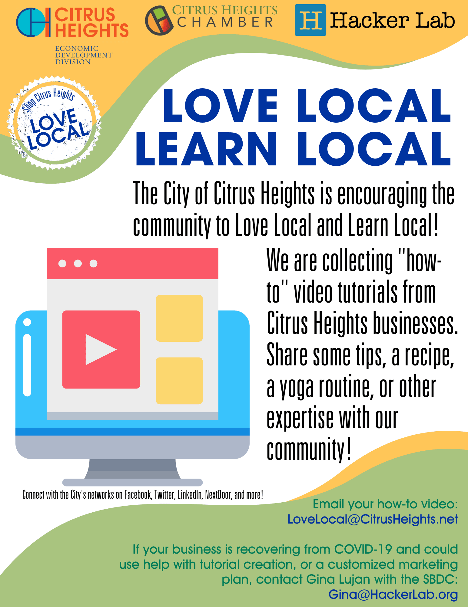 Learn Local Flyer