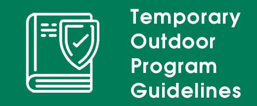 Temporary Outdoor Program Guidelines button
