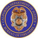 DOJ Bureau of Firearms badge Opens in new window